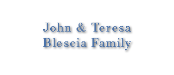 John and Teresa Blescia Family